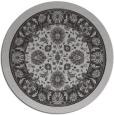 rug #1306123   round orange borders rug