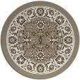 rug #1306215 | round white borders rug