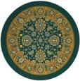 rug #1306234 | round damask rug