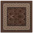 rug #1306651 | square brown borders rug