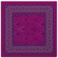 rug #1306671 | square pink damask rug