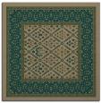 rug #1306747 | square brown borders rug