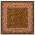 rug #1306787 | square mid-brown traditional rug