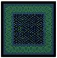 rug #1306839 | square black rug