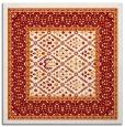 rug #1306851   square orange traditional rug