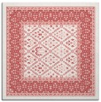 rug #1306875 | square white borders rug
