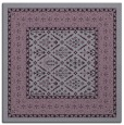 rug #1306891 | square purple borders rug