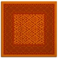 rug #1306899 | square red traditional rug