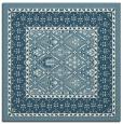 rug #1306947 | square white damask rug