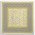 rug #1306963 | square yellow rug