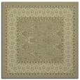 rug #1306979 | square light-green borders rug