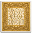 rug #1306991 | square light-orange borders rug
