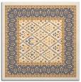 rug #1306999 | square light-orange traditional rug