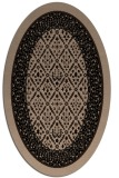 rug #1307017 | oval traditional rug
