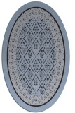 rug #1307113 | oval borders rug