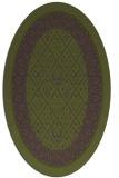 rug #1307144 | oval borders rug