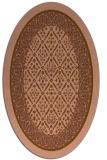 rug #1307158 | oval borders rug