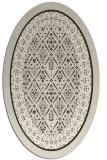 rug #1307188 | oval borders rug