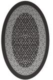 rug #1307201 | oval borders rug
