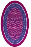 rug #1307203 | oval borders rug