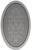 rug #1307227 | oval orange traditional rug