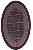 rug #1307260 | oval borders rug