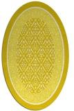 rug #1307299 | oval white traditional rug