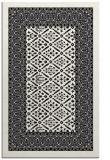 rug #1307375 |  black damask rug