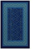 rug #1307403 |  blue traditional rug