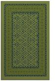 rug #1307415 |  green damask rug