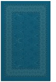 rug #1307423 |  blue-green damask rug