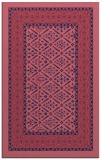 rug #1307463 |  pink borders rug