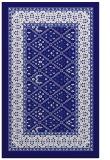 rug #1307471 |  blue-violet traditional rug