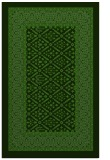 rug #1307515 |  light-green damask rug