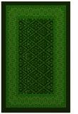 rug #1307579 |  green damask rug
