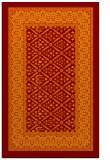 rug #1307583 |  red-orange traditional rug
