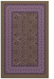 rug #1307623 |  mid-brown damask rug