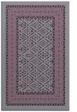 rug #1307627 |  purple damask rug