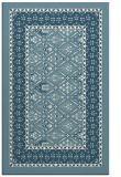 rug #1307683    blue-green damask rug