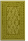 rug #1307711 |  light-green damask rug