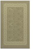 rug #1307715 |  light-green damask rug