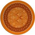 rug #1307739 | round beige borders rug