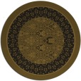 rug #1307762 | round borders rug