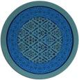 rug #1307774 | round damask rug