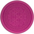 rug #1307967   round pink traditional rug