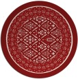 rug #1308010 | round damask rug