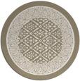rug #1308055 | round beige popular rug