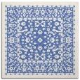 rug #1308523 | square blue damask rug