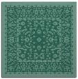 rug #1308531 | square blue-green borders rug