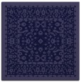 rug #1308559 | square blue-violet damask rug
